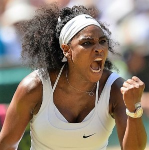 Serena Williams wins the 7th Wimbledon title