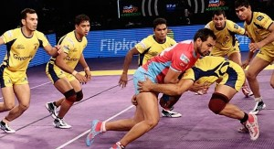 Telugu Titans vs Jaipur Pink Panthers