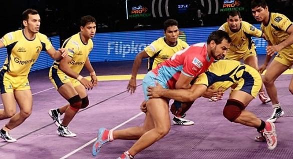 Telugu Titans vs Jaipur Pink Panthers