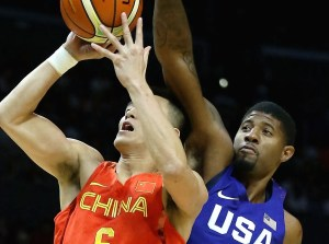 USA Men's Basketball team thumps China