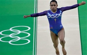 Dipa Karmakar finishes fourth in Vault final