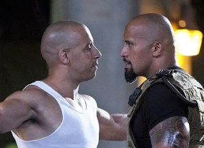 Dwayne the Rock Johnson vs Vin Diesel at WrestleMania. You never know