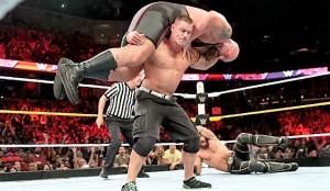 John Cena WrestleMania match