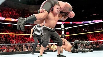 John Cena WrestleMania match
