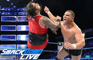 American Alpha vs the Usos October 4 Smackdown
