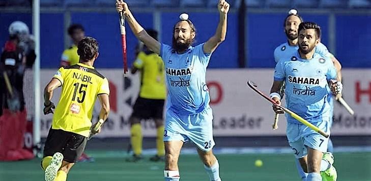 Malaysia vs India Hockey Match