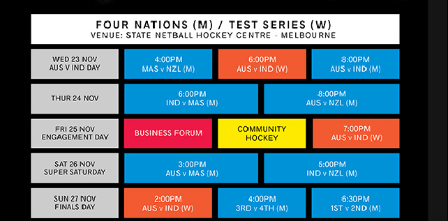 Four Nations Hockey Tournament 2016 Schedule, Fixtures And Team News