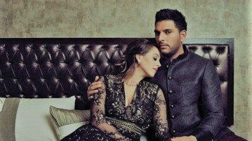 Cricketer Yuvraj, Hazel Keech marry