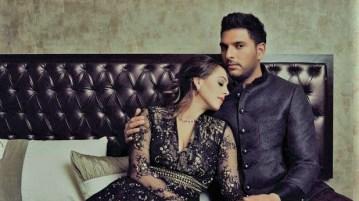 Cricketer Yuvraj, Hazel Keech marry