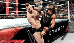 Roman Reigns and Kevin Owens vs Sheamus and Cesaro