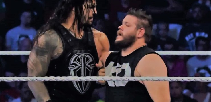 Roman Reigns vs Kevin Owens