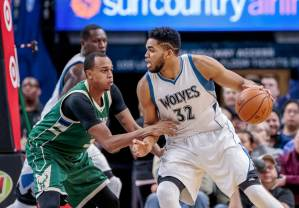 Milwaukee Bucks vs Minnesota Timberwolves