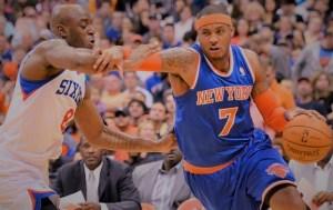New York Knicks vs Philadelphia 76ers