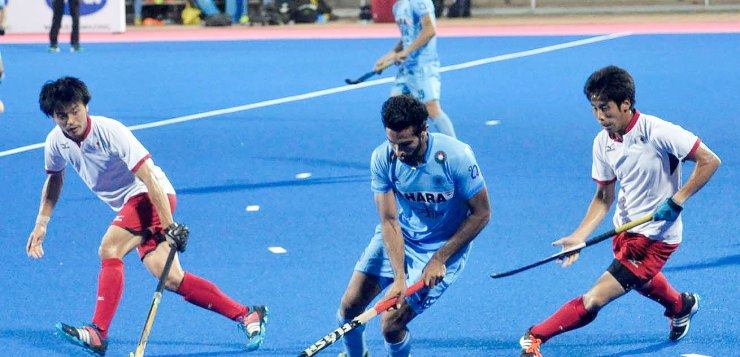 CWG 2018 Semifinal India vs New Zealand Hockey Match