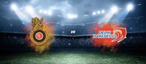 Royal Challengers Bangalore vs Delhi Daredevils