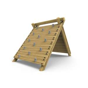 a-frame rock wall climber, playground equipment, Playcubed, Valley Provincial, Primary school playground, recreation area, playground construction, playground installation, bespoke playground design