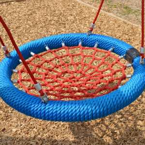 basket swing, inclusive play, Playcubed, Valley Provincial, Primary school playground, playground installation, playground construction, bespoke playground design