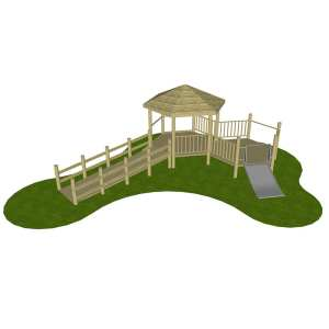 ddA Tower Unit, Playcubed, Valley Provincial, Primary school playground, recreation area, playground installation, playground construction, bespoke playground design, playground landscaping, playground activity frame