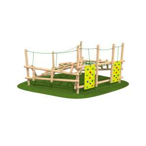 playground equipment, clamber climber, Playcubed, Valley Provincial, Primary school playground, recreation area, playground construction, London playground installation, bespoke playground design