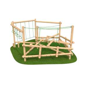 School climbing frame, playground equipment, clamber climber, Playcubed, Valley Provincial, Primary school playground, recreation area, playground construction, Kent playground installation, bespoke playground design