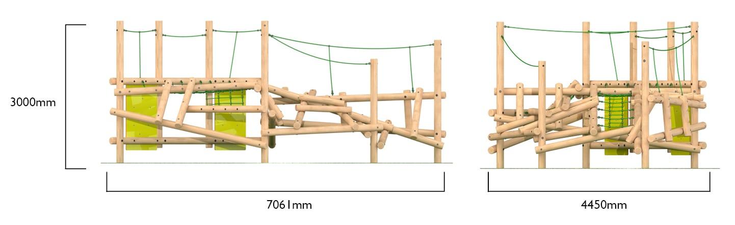 clamber climber maxi