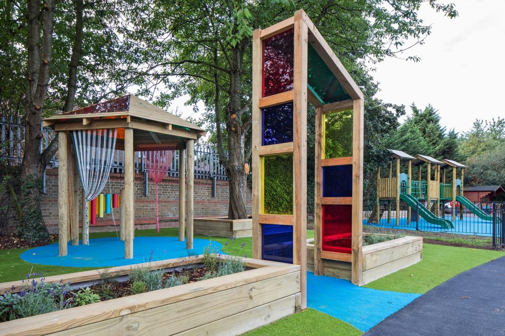 playcubed, Sensory Play Areas, nature and sensory play area Kent, playground design, nature play area Kent, sensory play area Kent