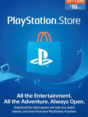 PlayStation Store Gift Card de $10 - Estados Unidos - Código Digital