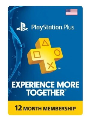 PlayStation Plus de 12 meses - Estados Unidos - Código Digital
