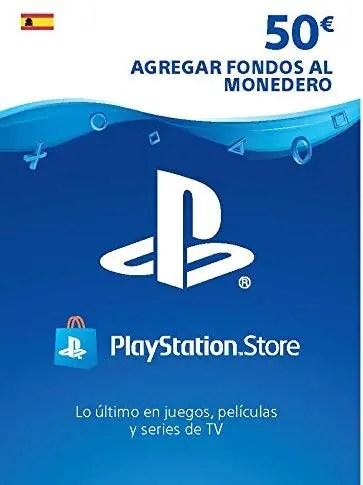 PlayStation Store Gift Card de $50 – España – Código Digital