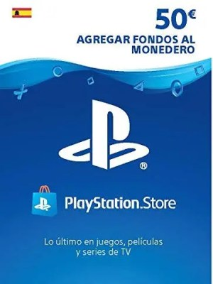 PlayStation Store Gift Card de $50 – España – Código Digital