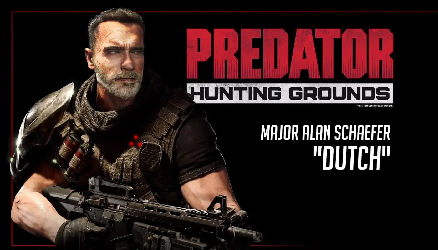 Dutch regresará en Predator: Hunting Grounds | PlayDepot