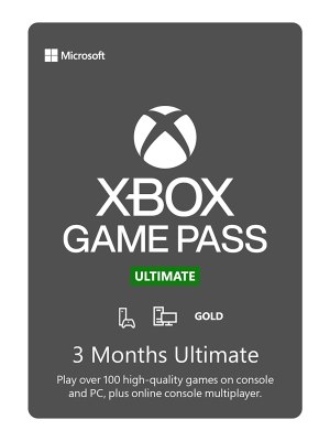 Xbox Game Pass Ultimate de 3 meses - Código Digital