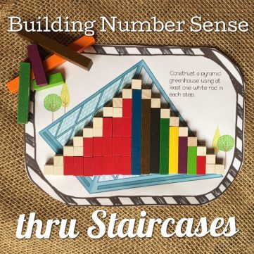 build number sense through cuisenaire rods