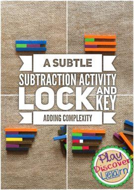 teaching kindergartners subtraction