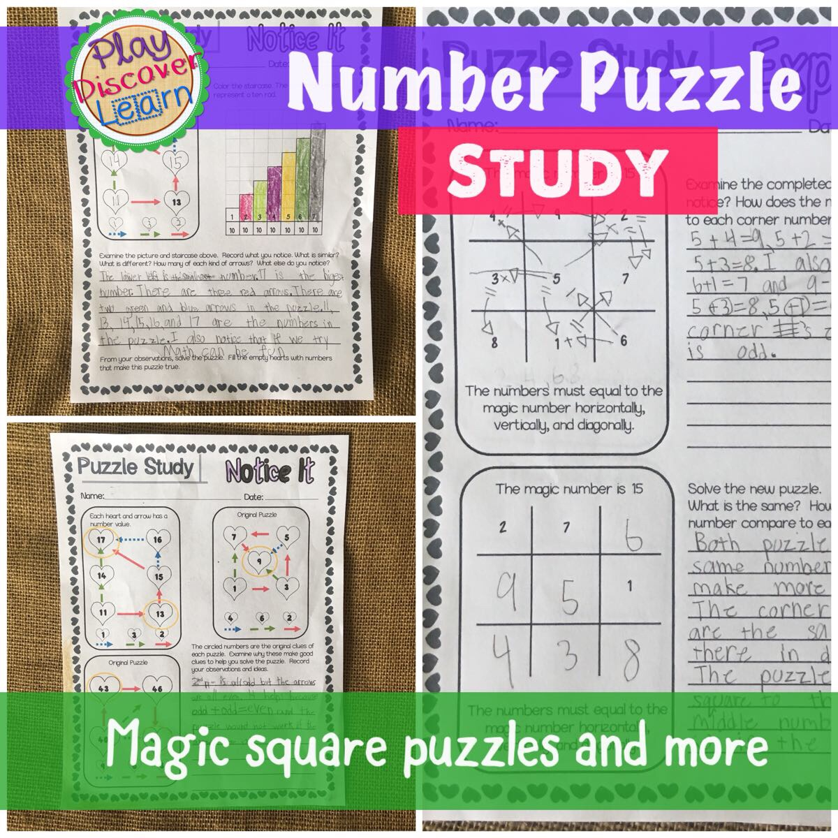 how to create your own magic square puzzles