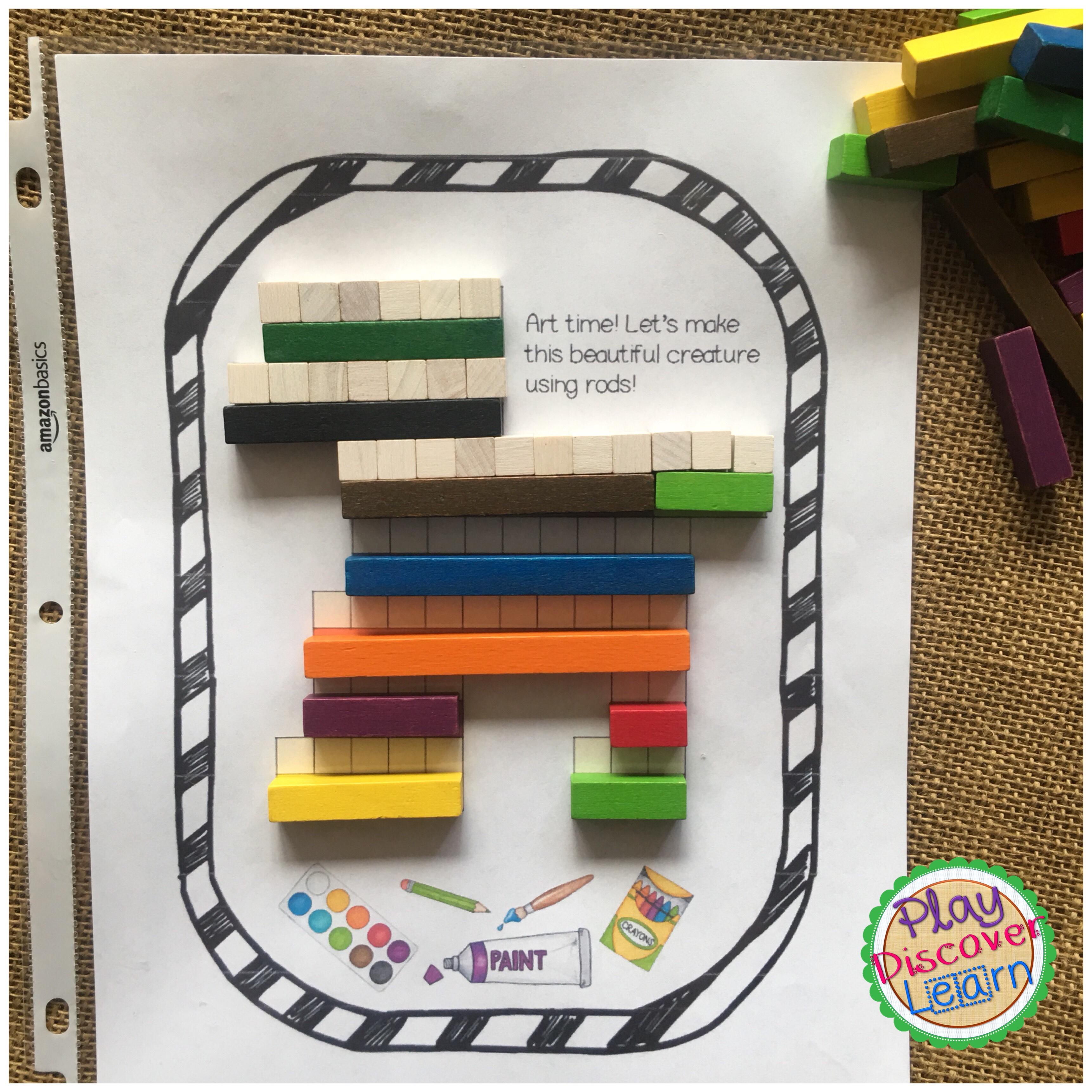 naming fraction activities