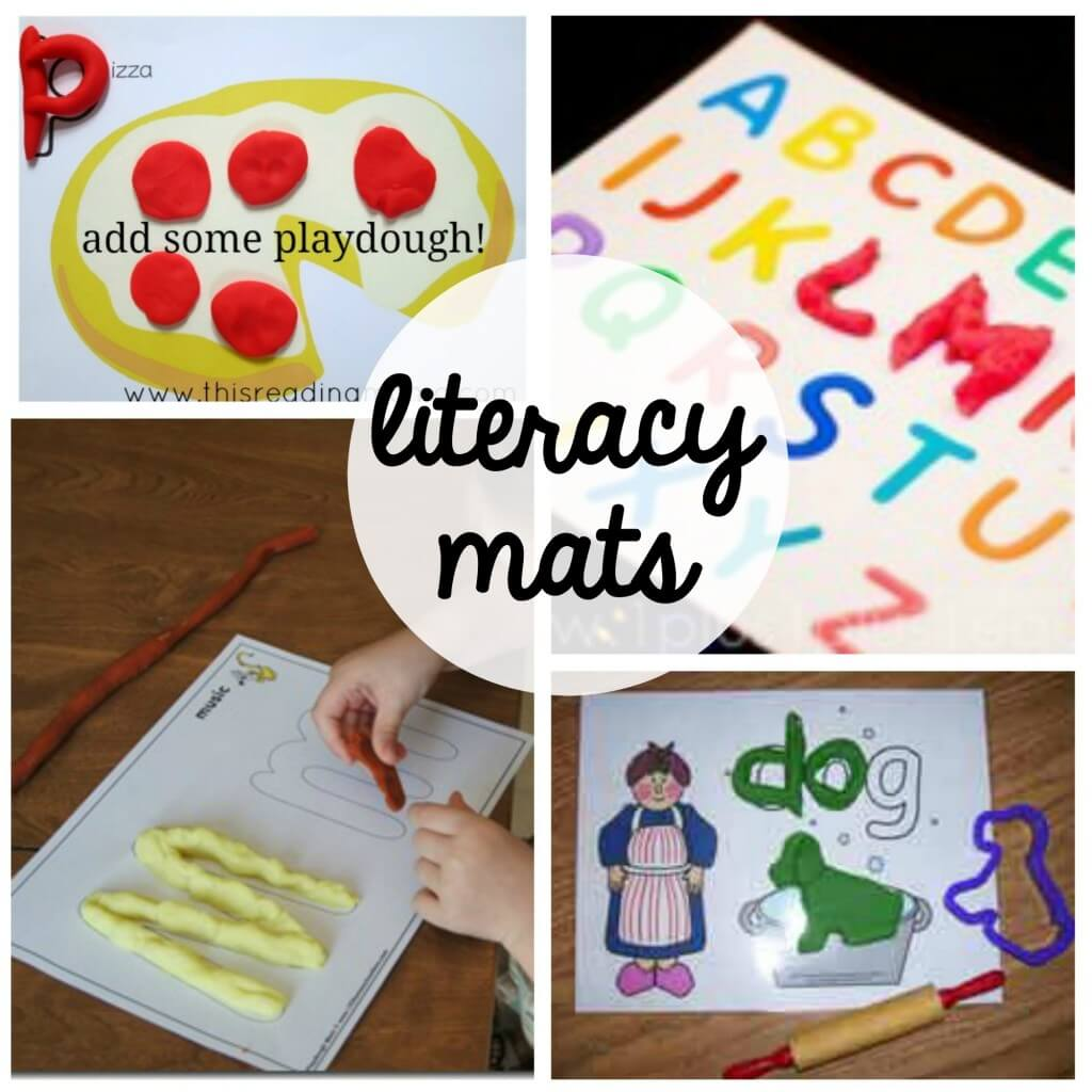 100 Free Playdough Mats