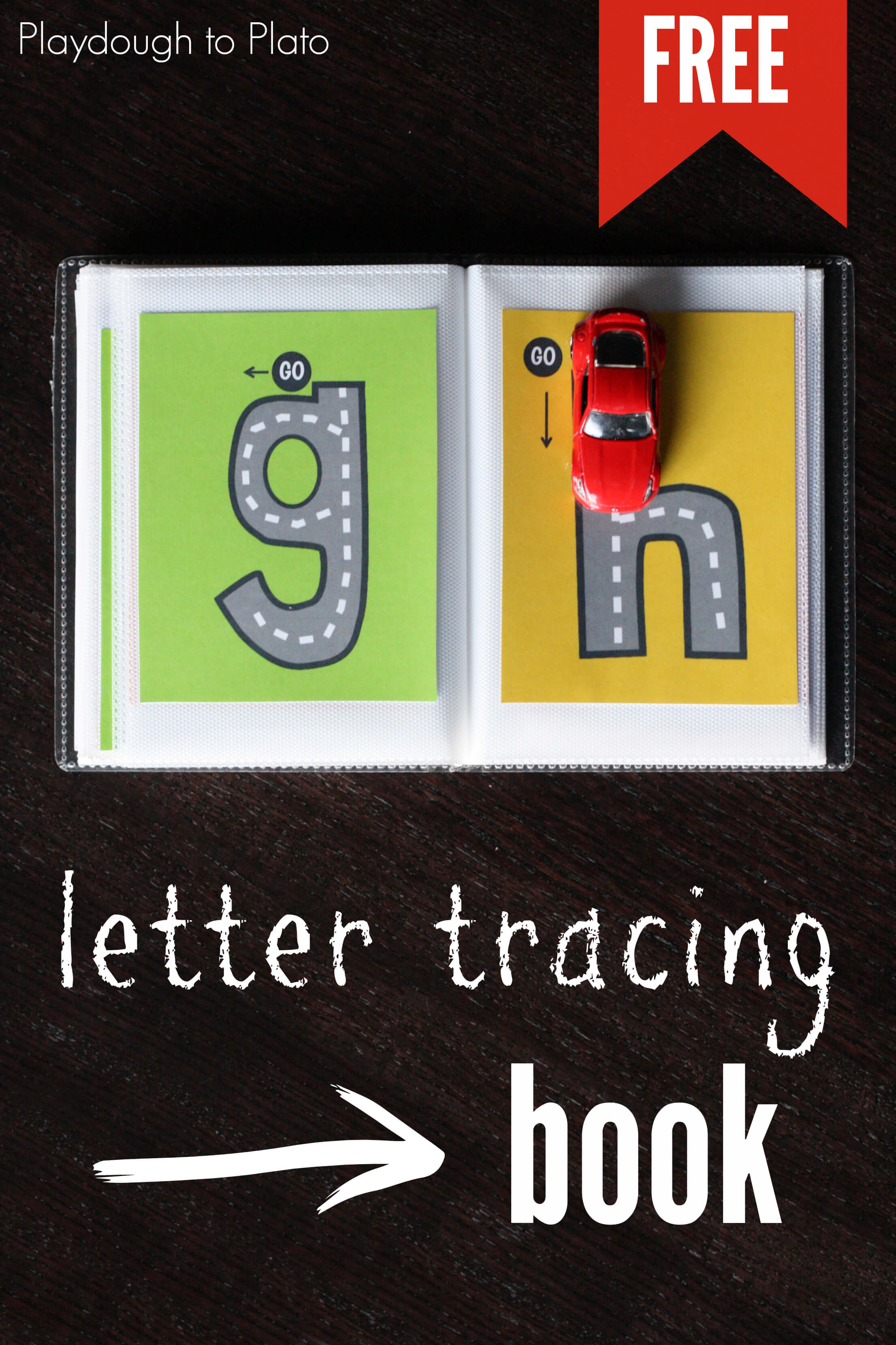 Lowercase Letter Tracing Book