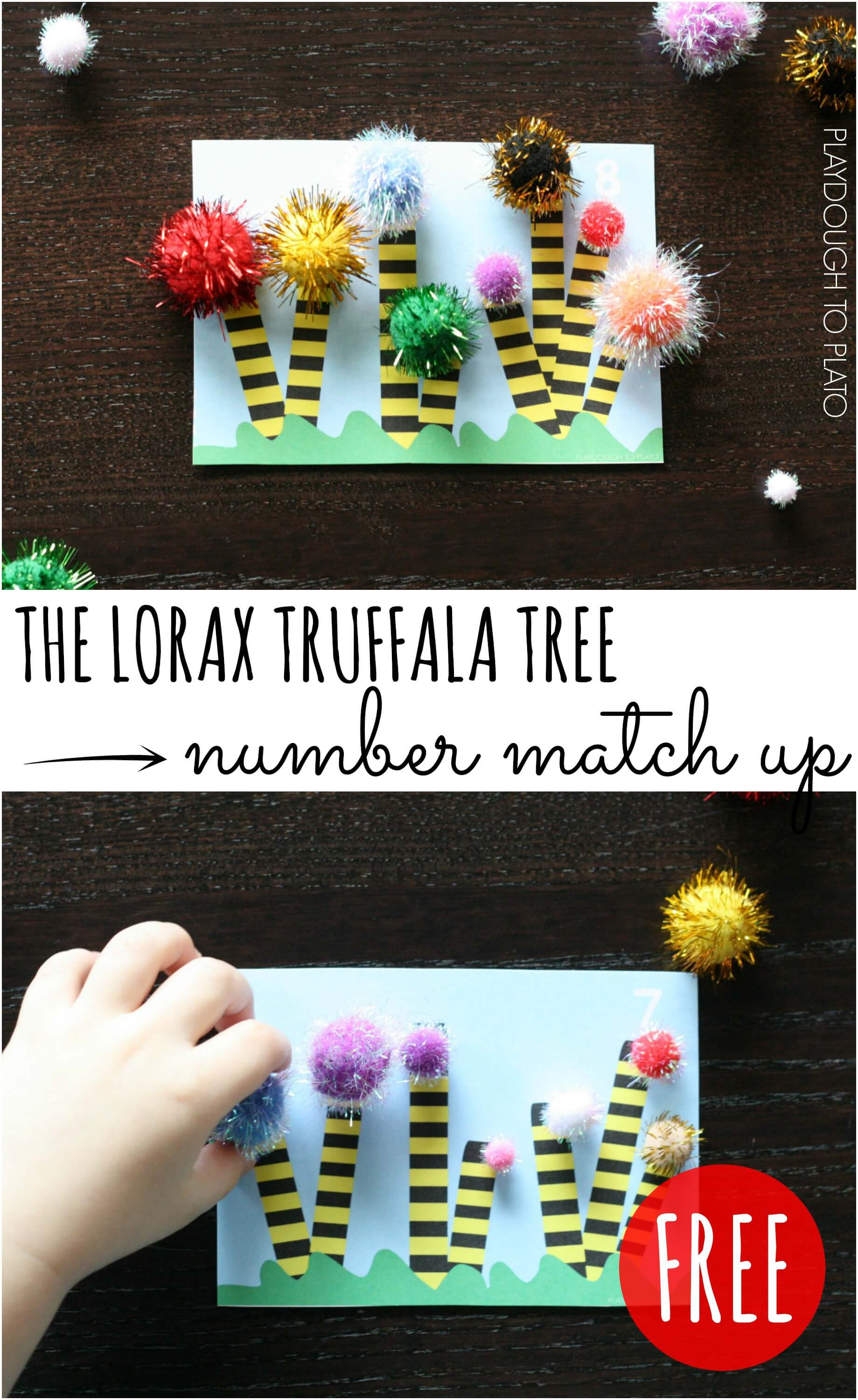 The Lorax Number Match Up