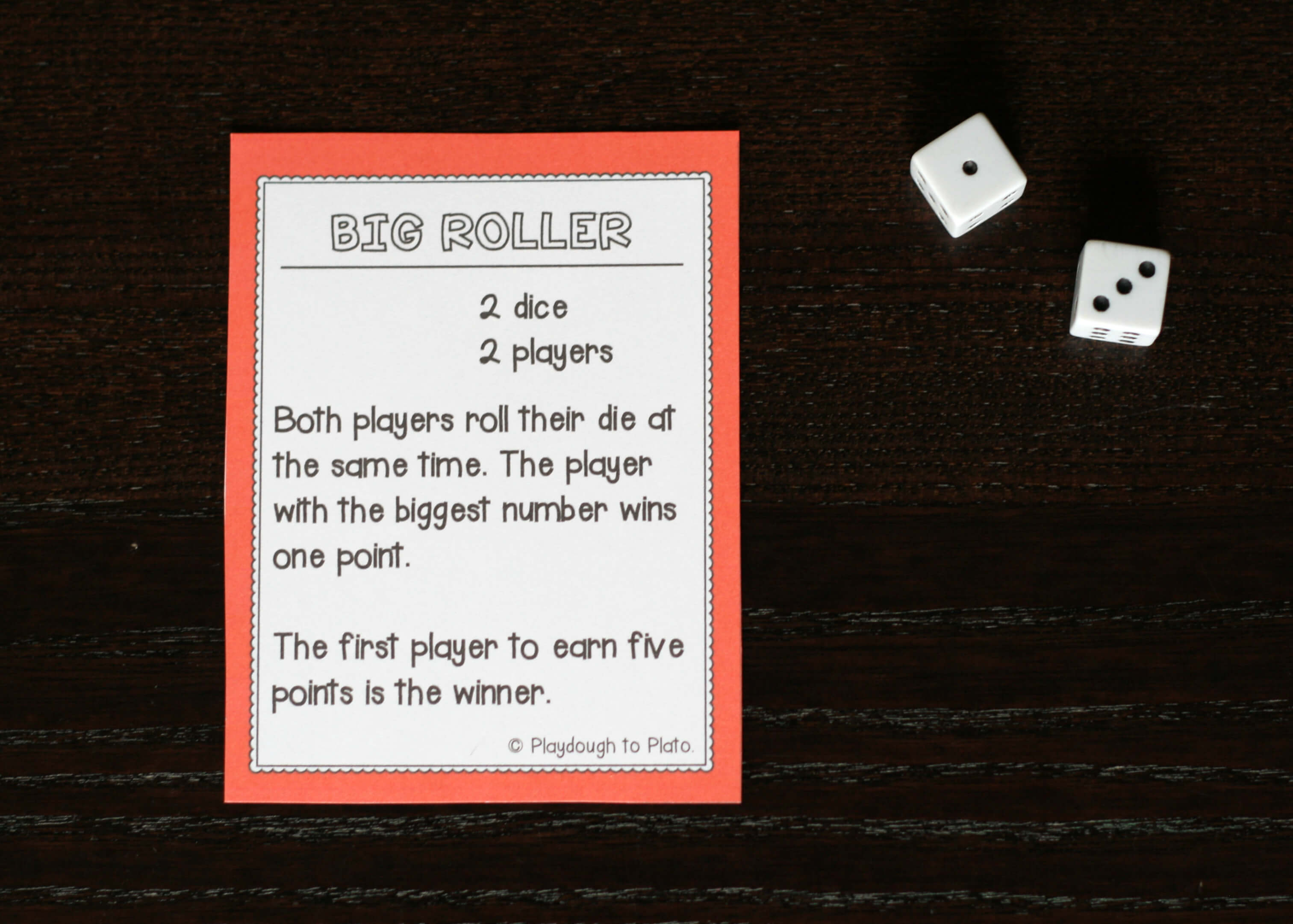 4 Must Try Dice Games Playdough To Plato