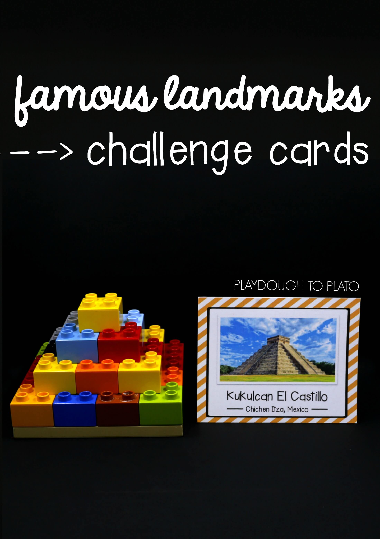 Stem Challenge Build Famous Landmarks