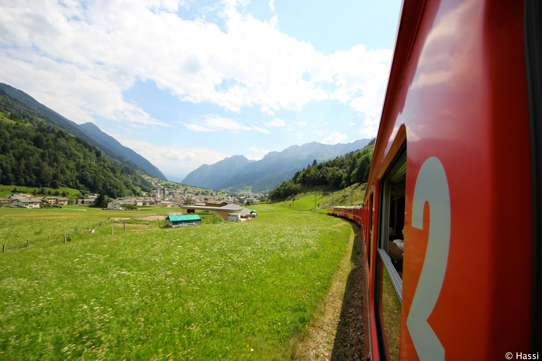 世界の車窓より/ベルニナ鉄道/スイス