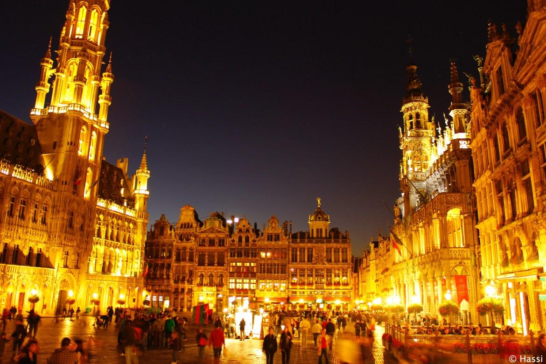 世界一美しい広場グランプラス/ブリュッセル/ベルギー