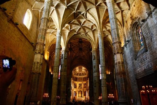 ジェロニモス修道院内、サンタマリア教会