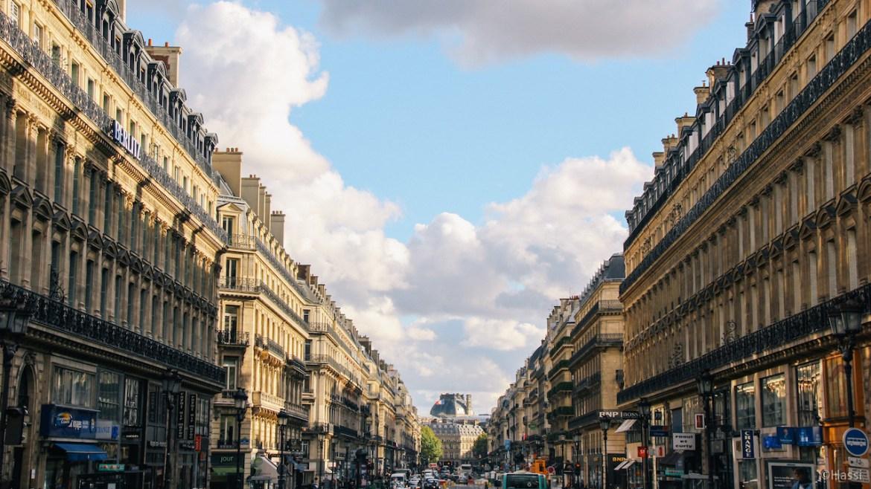 パリの街角/フランス