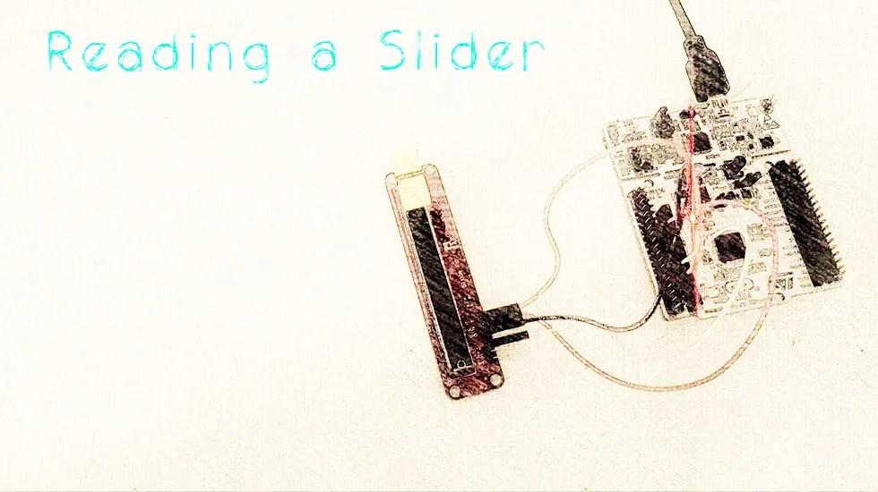 Reading a Slider