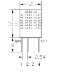 DHT11 mechanical draft