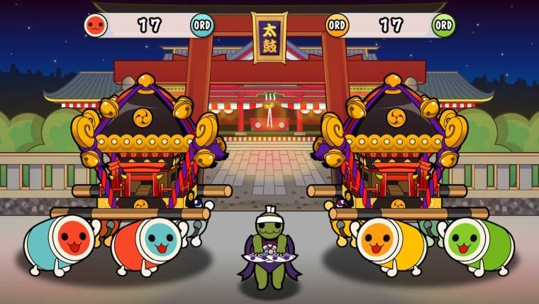 Taiko no Tatsujin: Drum 'n' fun! juego festivo cooperativo