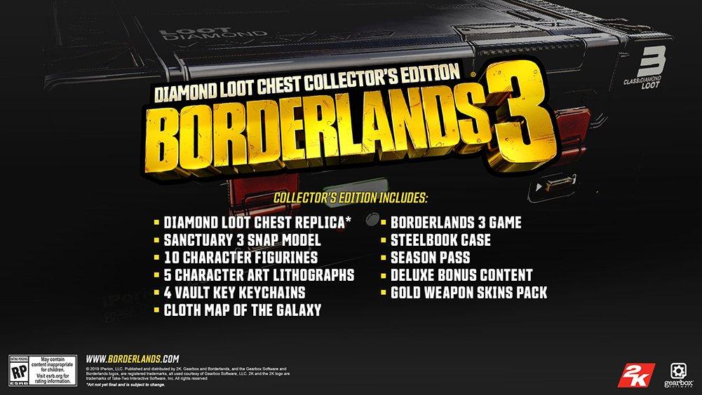 edicioón coleccionsta borderlands 3