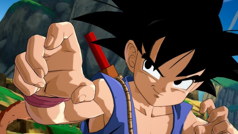 Dragon Ball FighterZ goku niño